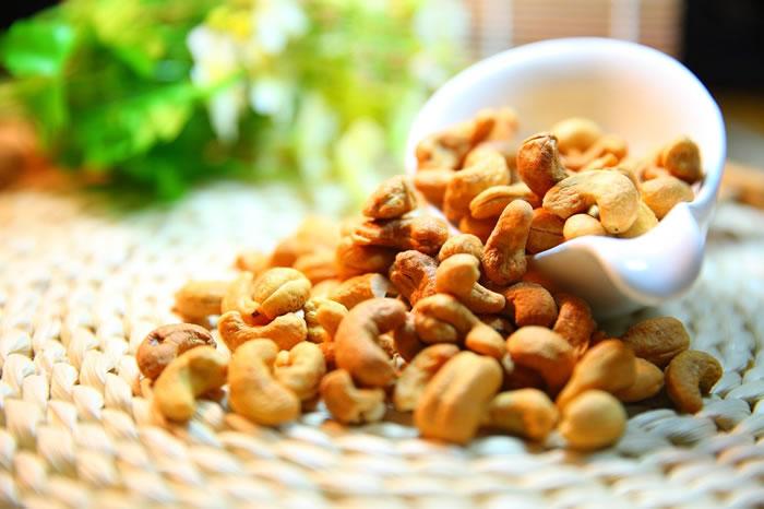 Cashew rig på protein